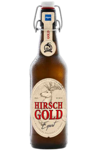 Hirsch Gold Export Lager 500ml bottle