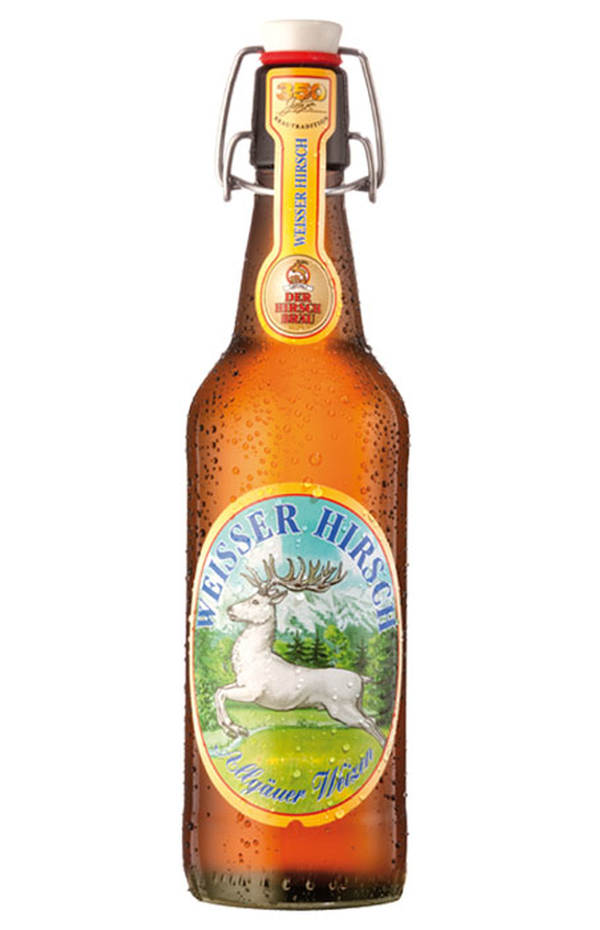 Weisser Hirsch German Weissbier Bottle