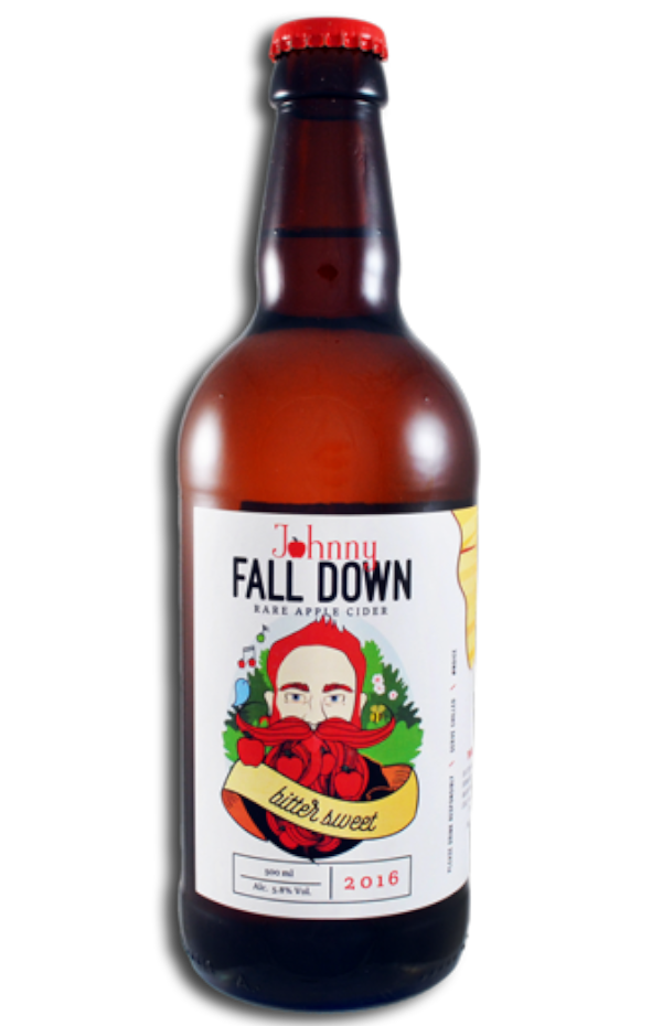 Johnny Fall Down Bittersweet Cider