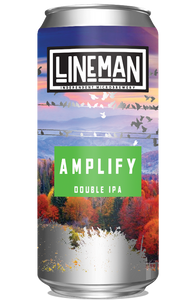 LINEMAN Amplify Double IPA 440ml can