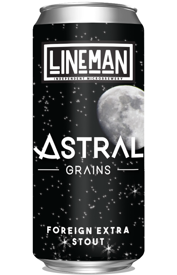 LINEMAN Astral Grains Stout 440ml Can