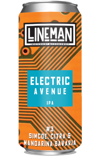 Lineman Electric Avenue #03 IPA 440ml can