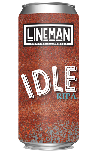 LINEMAN Idle Red IPA 440ml Can