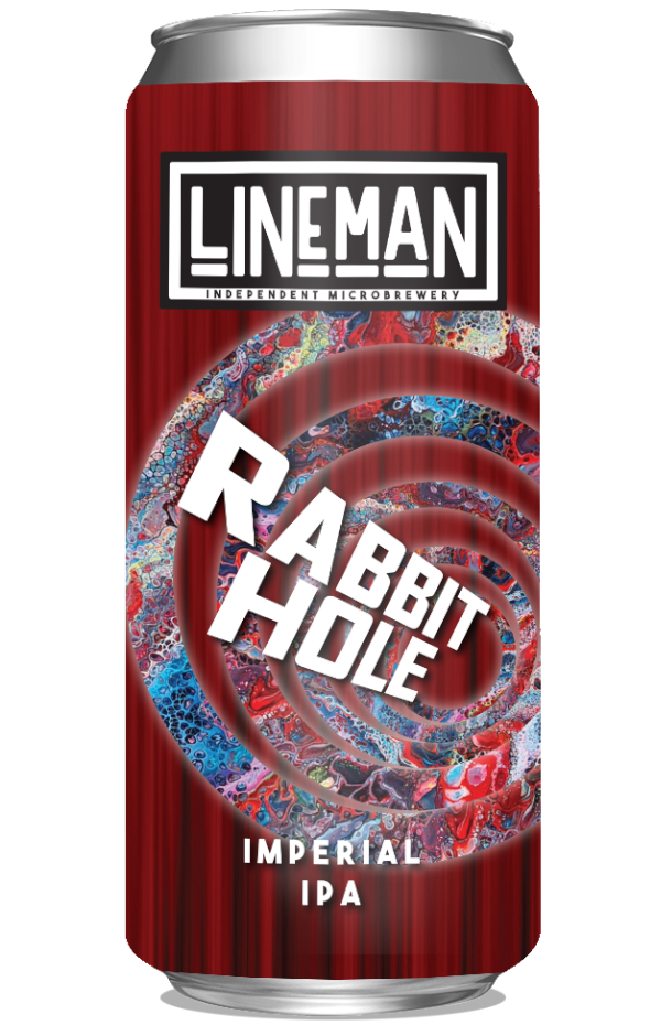 LINEMAN Rabbit Hole Double IPA 440ml can