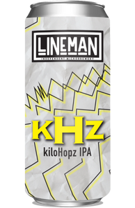 Lineman kHz kiloHopz IPA 440ml can