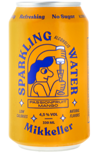 Mikkeller S.A.W. Passionfruit Mango Hard Seltzer 330ml can