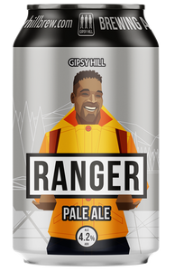 This is a can of ranger pale ale