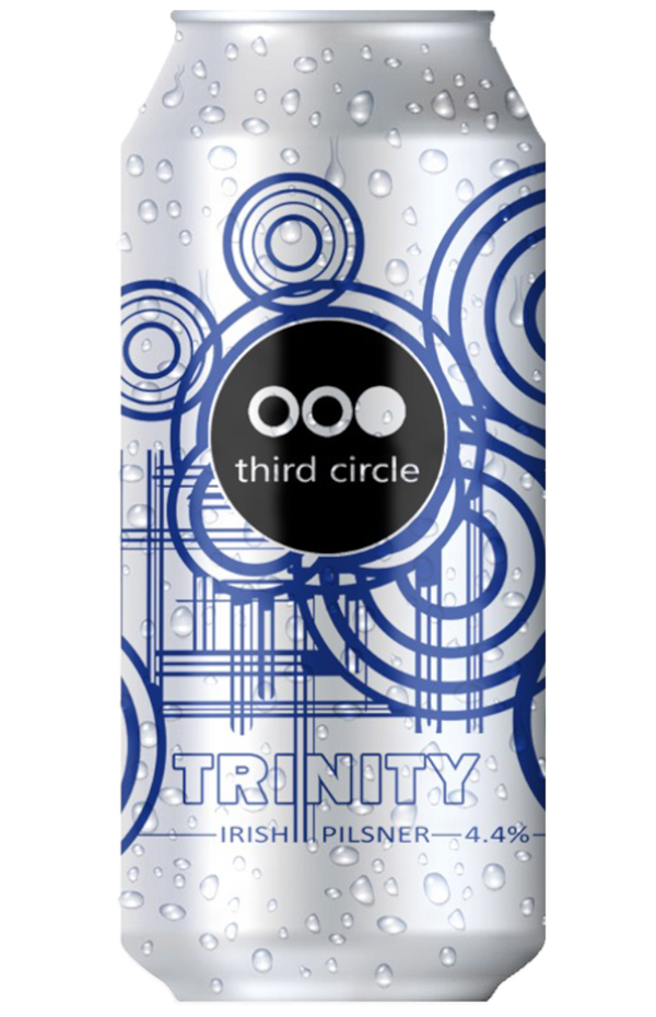 Third Circle Trinity Pilsner 440ml can