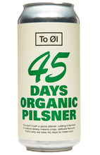 To Øl 45 Days Organic Pilsner 440ml can