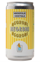 Mikropolis Cocktails Negroni 250ml can