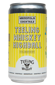 Mikropolis Teeling Whiskey Highball can