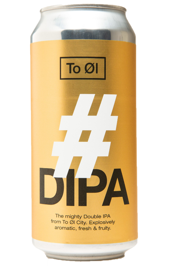 To Øl #DIPA 440ml can
