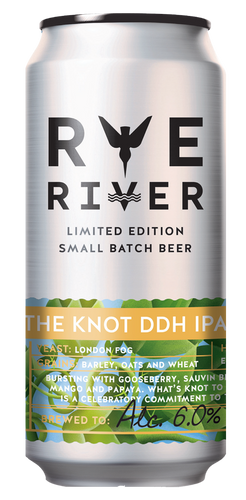 This is a can of the Knot by rye river