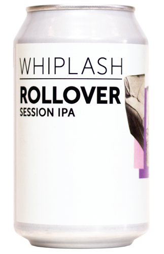 Whiplash Rollover Hazy Session IPA 330ml can
