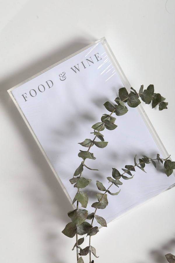 Food & Wine Notepad