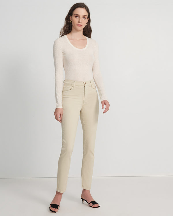 J Brand Teagan High Rise Slim Straight