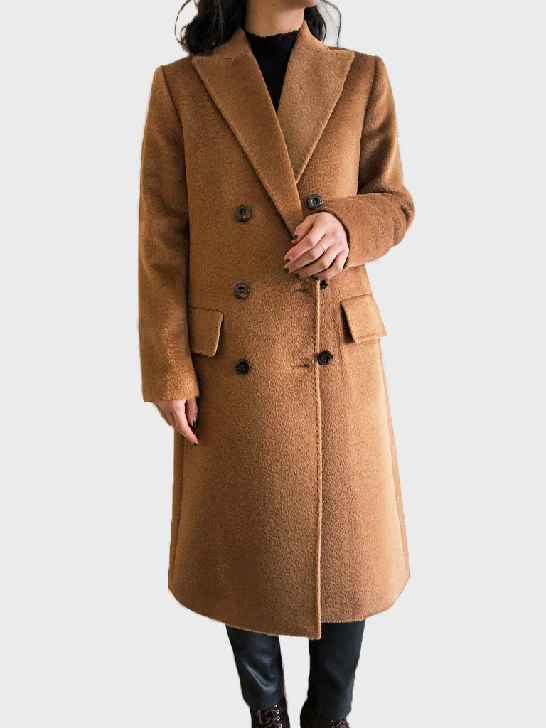 Alpaca Milan Double Breasted Coat