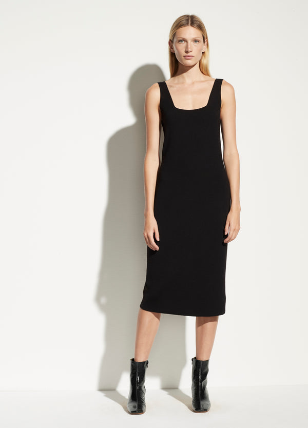 Vince Square Neck Dress