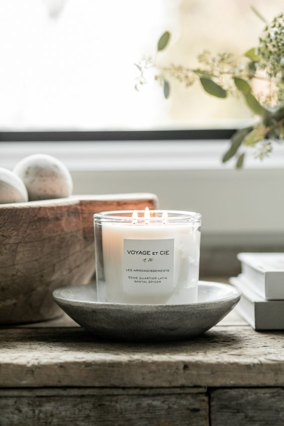 Voyage et Cie 3-Wick Candle