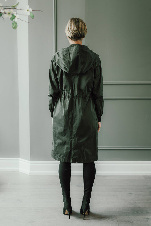 CLEMENTINE'S x MEROTTO Bomber Anorak with Hood