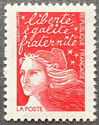 """Type Marianne du 14 Juillet"" - Type Marianne of July 14th - w/o facial value MNH old stamp - France - 1997  Type: taille-douce Yvert & Tellier: 3083"
