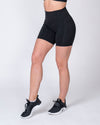 POCKET BIKE SHORTS - BLACK