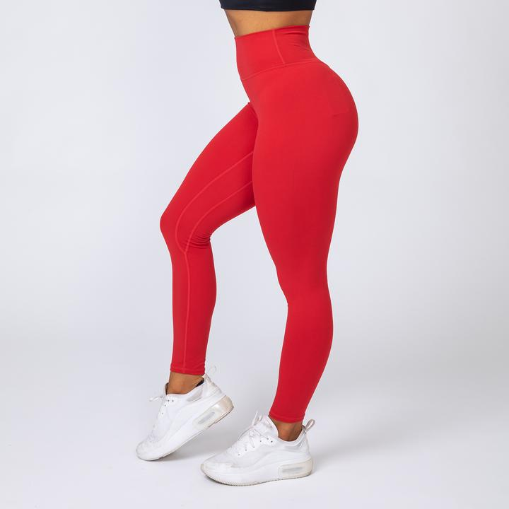 V2 BUTTER LEGGINGS - RED