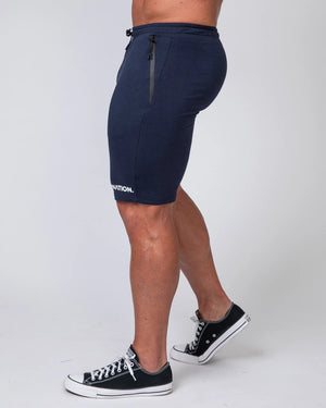 MNATION TAPERED FIT SHORTS - NAVY