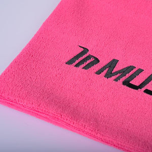 MUSCLE NATION GYM TOWEL - PINK