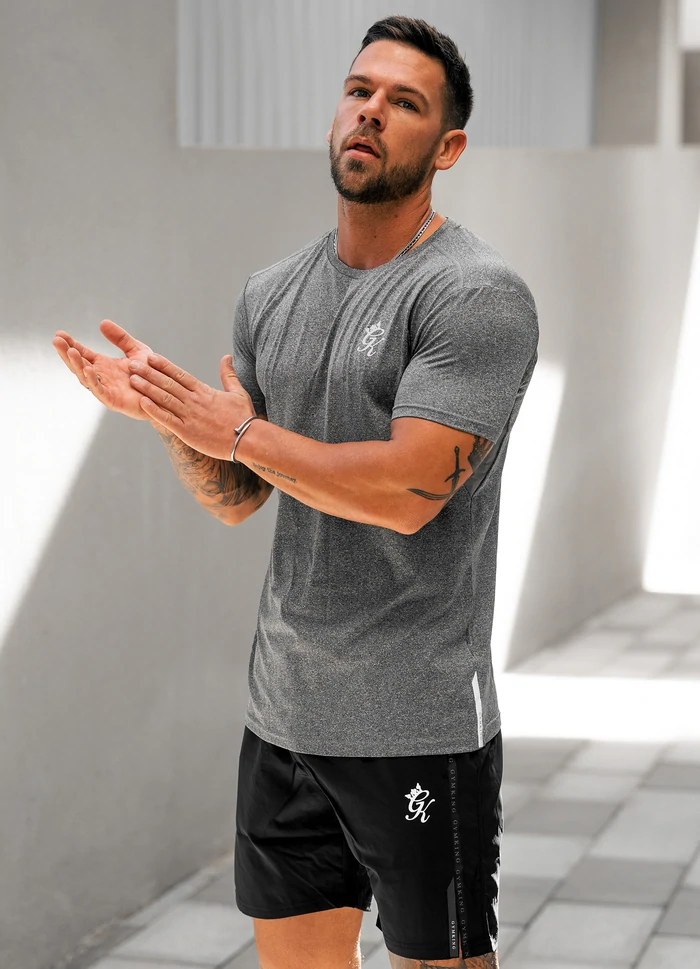 HUSTLER SEAMLESS BLUE TIGHTS