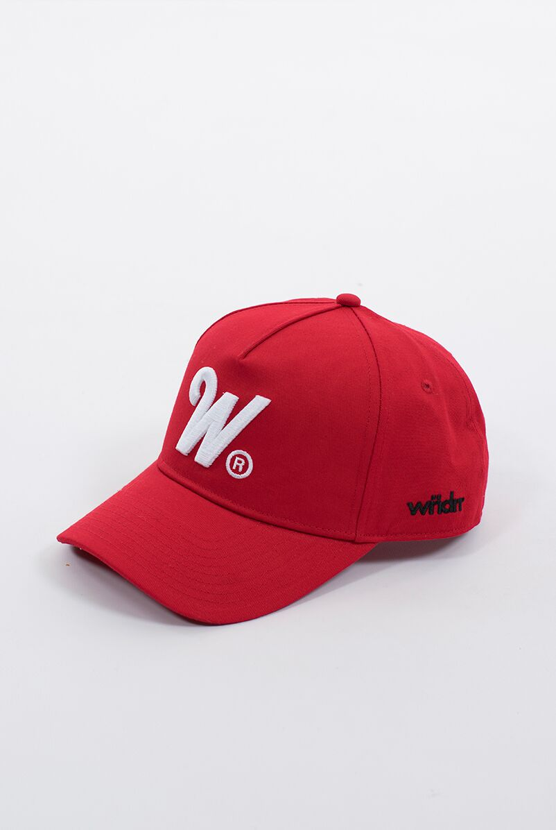 PHILLIPS SNAPBACK CAP - RED/WHITE