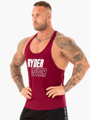 LIFT T-BACK STRINGER BURGUNDY