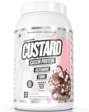 GIFT THIRD - CUSTARD CASEIN PROTEIN - WRITE FLAVOUR OF CHOICE FROM OUR SITE AT CHECK OUT IN THE COMPANY NAME SECTION