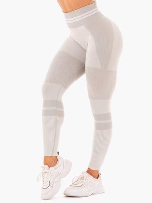 FREESTYLE SEAMLESS HIGH WAISTED LEGGINGS GREY