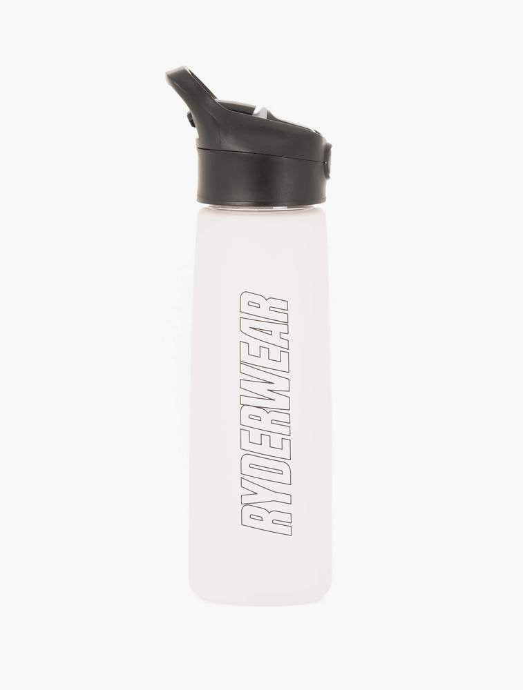 GIFT FIRST - RYDERWEAR STRAW DRINK BOTTLE CLEAR