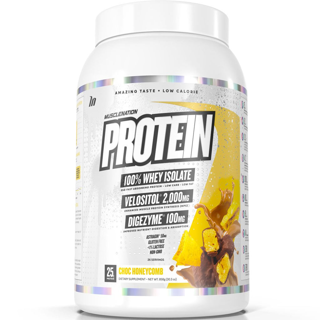 PROTEIN 100% WHEY ISOLATE CHOC HONEYCOMB