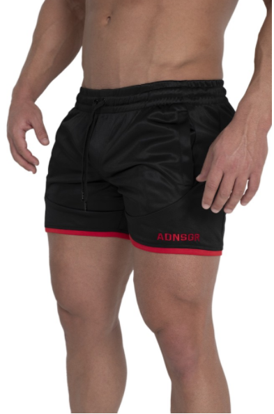 ENVY (BLACK/RED) SHORTS
