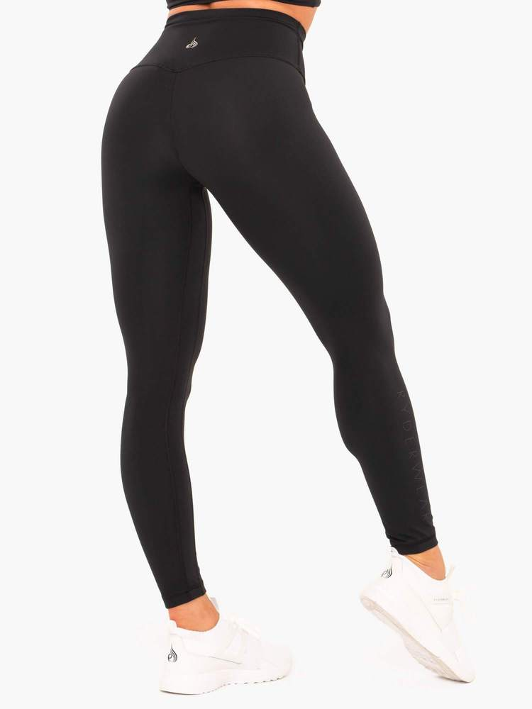 NKD High Waisted Leggings - Black