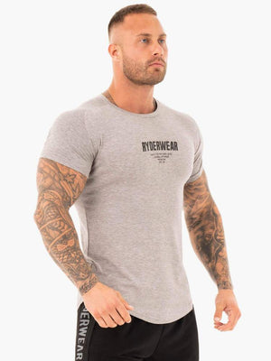 CORE T-SHIRT GREY MARL