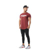 S2 Maroon Unfinished Business Curved Hem Tee