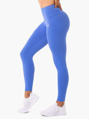 STAPLES SCRUNCH BUM LEGGINGS IRIS BLUE