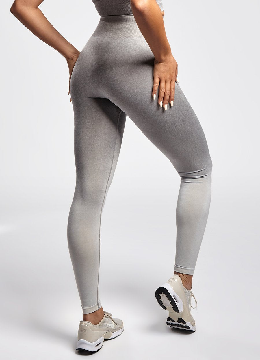 GYM KING SPORT OMBRE LEGGING - GREY