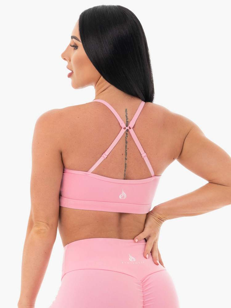 STAPLES SPORTS BRA PINK