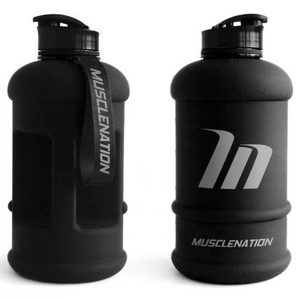 MuscleNation 1.3L WATER JUG BLACK