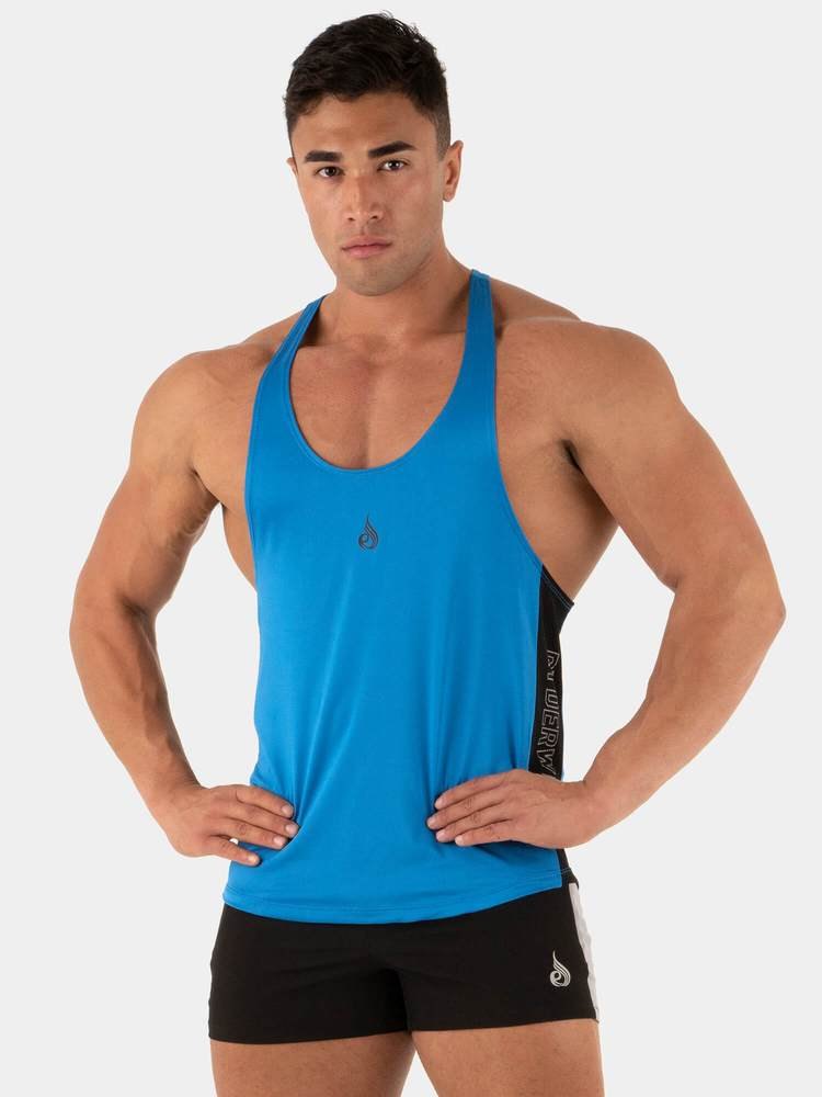Nano T-Back Stringer Tank - Blue