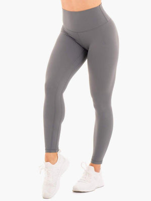NKD HIGH WAISTED LEGGINGS CHARCOAL