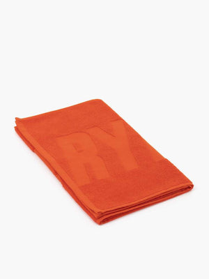 RYDERWEAR GYM TOWEL ORANGE RED
