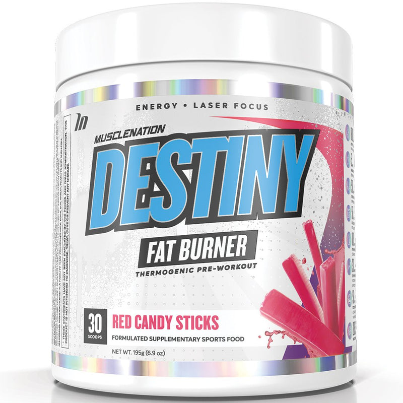 GIFT THIRD - DESTINY RED CANDY STICKS - WRITE FLAVOUR OF CHOICE FROM OUR SITE AT CHECK OUT IN THE COMPANY NAME SECTION