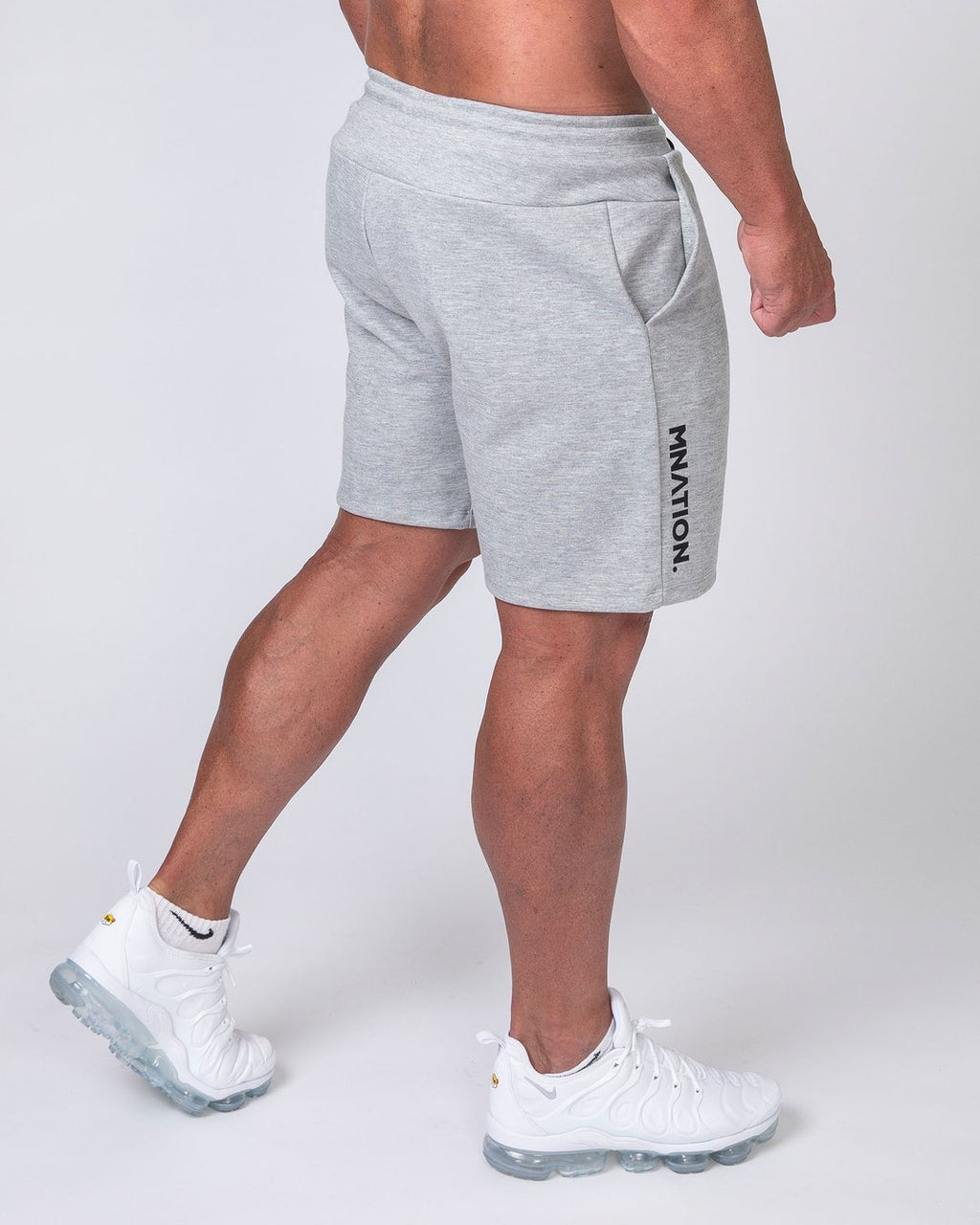 MENS CASUAL SHORTS - GREY
