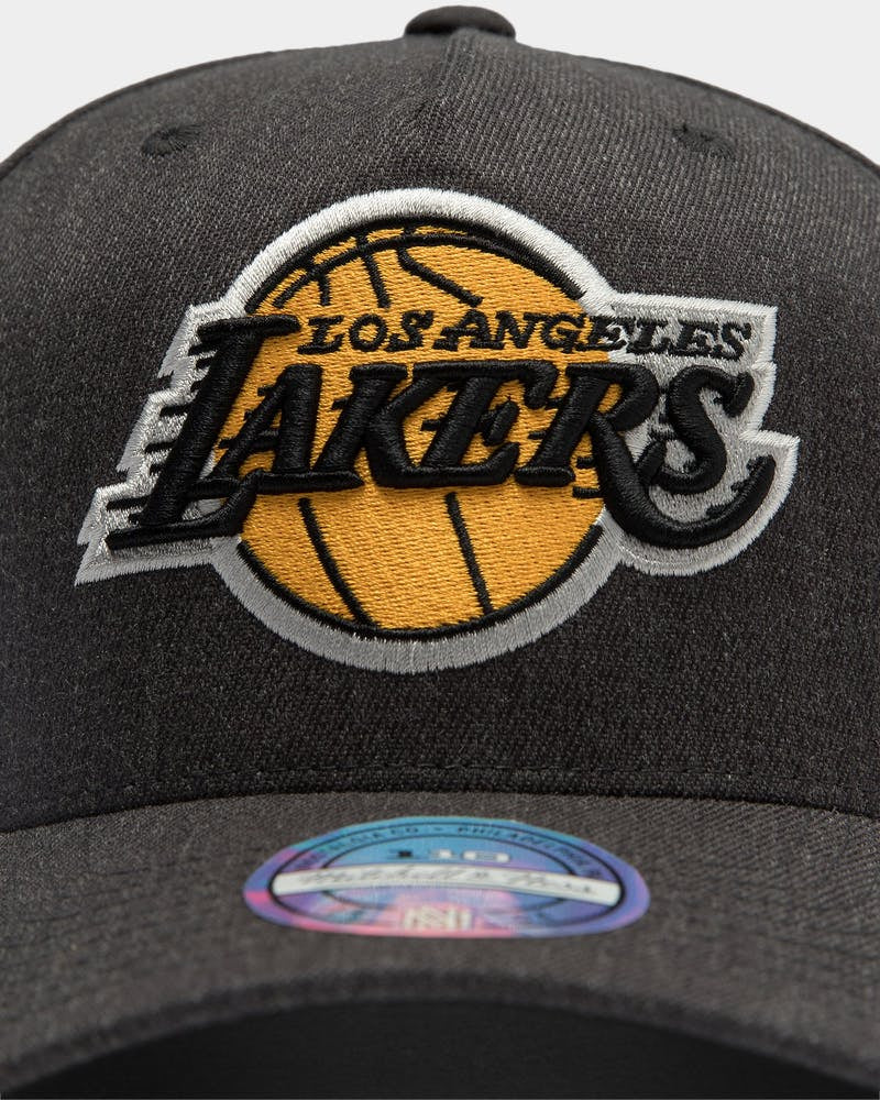 Los Angeles Lakers Charcoal Easy Snapback